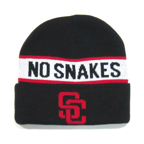 Show Class NO SNAKES NO RATS Knit Beanie
