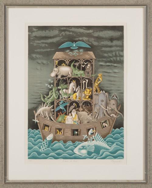 「ノアの方舟」レイモンペイネ