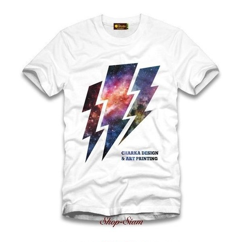 Galaxy Thunder Art Printing T-Shirts