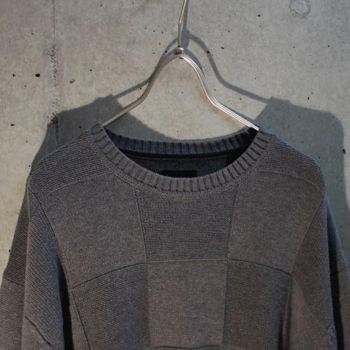 Gray Cotton Knit