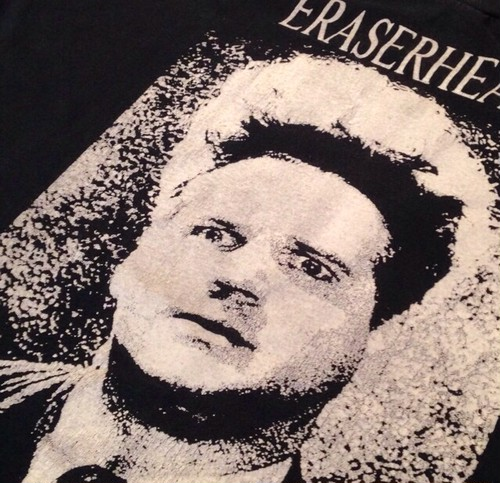 Vintage 90s ERASERHEAD (イレイザーヘッド) Tシャツ