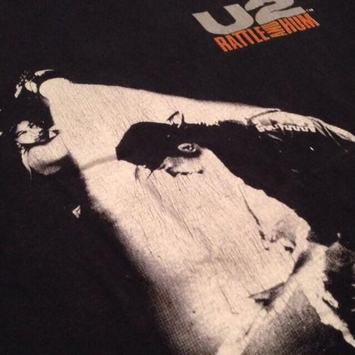 """Vintage 80s U2 """" RUTTLE AND HUM """" Tee"""