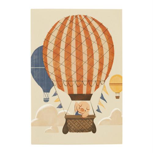ポストカード 気球