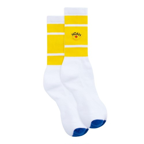 Varsity Stripe Sock(Yellow)