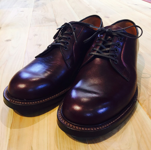 "WEEL ROBE(ウィールローブ)""PLAIN TOE BLUCHER"""
