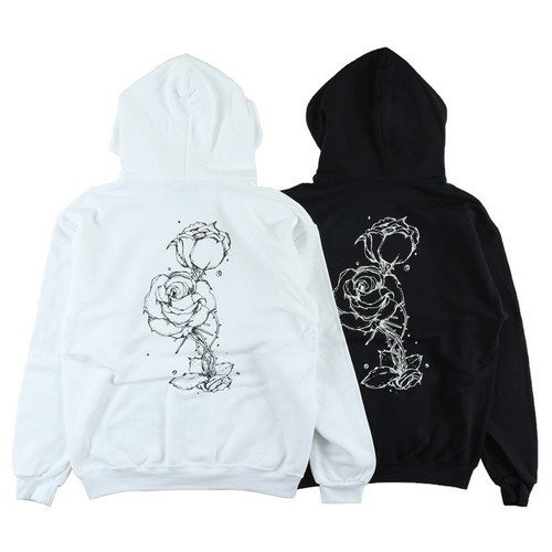 One Family Co. / Pullover Hoodie / Rose Flower