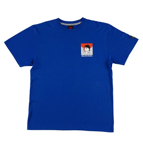 ROLLING CRADLE(ロリクレ) | VINTAGE PACKAGE T-SHIRT / Blue