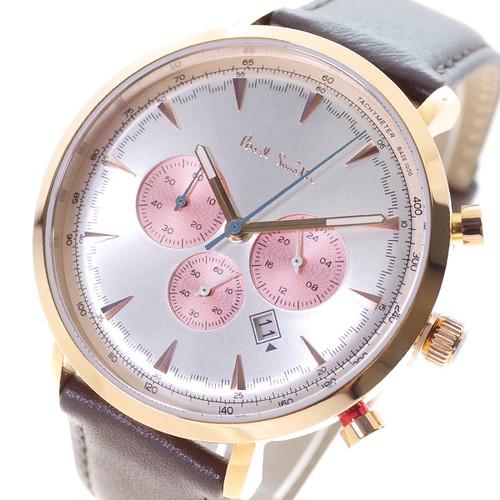 ポールスミス PAUL SMITH 腕時計 メンズ PS0070011 クオーツ ホワイト ブラウン