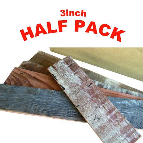 - Half Pack -  Reclaimed Stick 3inch (75mm)