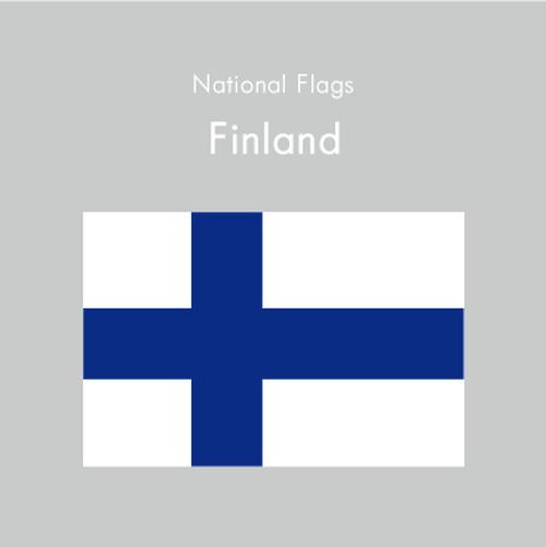 国旗ステッカー フィンランド