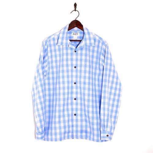 Mountain Mens / 長袖パラカシャツ / SaxBlue