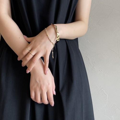 【 sea'ds mara 】Random cut ball chain bracelet