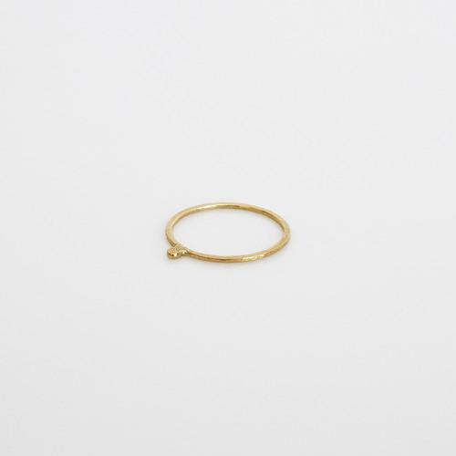 細ポチ ring / k18gd
