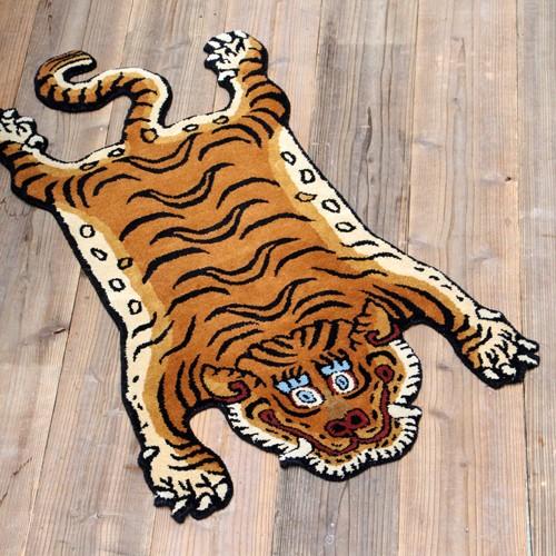 Tibetan Tiger Rug チベタンタイガーラグ Sサイズ