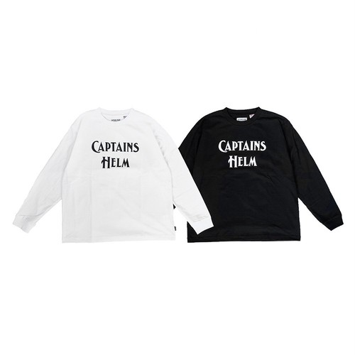 CAPTAINS HELM #Bacteria-Proof Logo L/S Tee