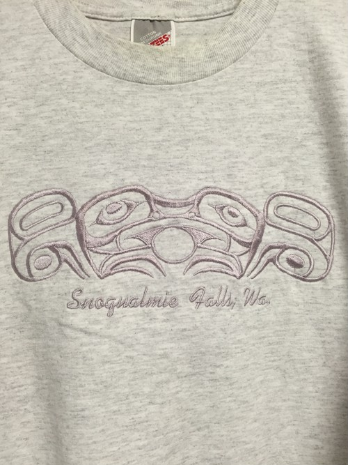 late90's〜early2000's Snoqualmie Falls embroidery T's