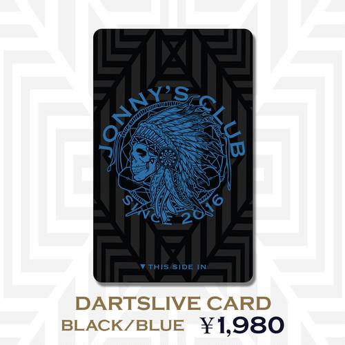 JONNNY'S CLUB ver.2  ダーツライブカード(黒・青)