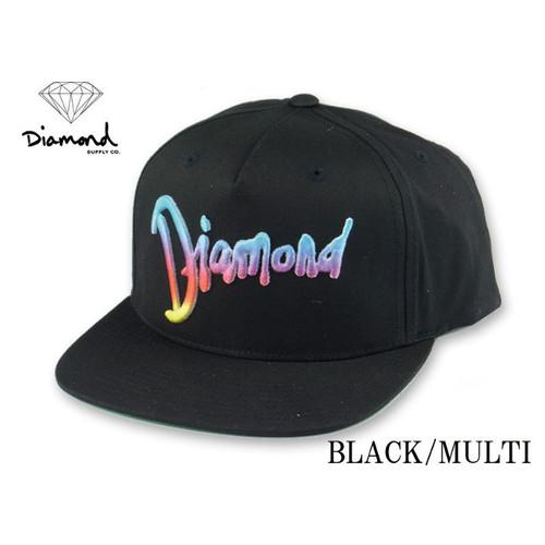 ダイヤモンドサプライ【 DIAMOND SUPPLY CO. 】ワールドツアースナップバックキャップ