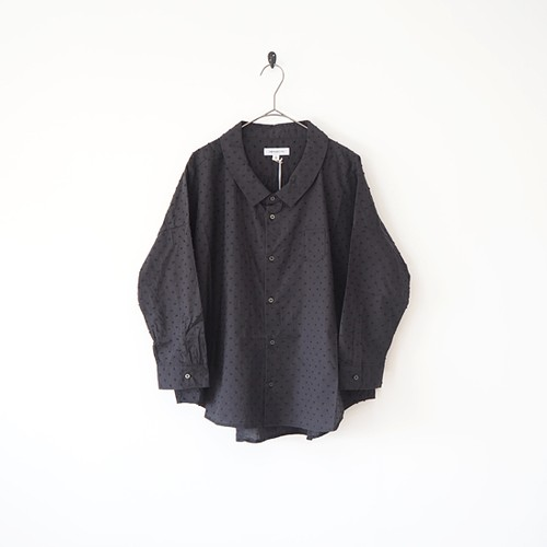 Ordinary fits (オーディナリーフィッツ)  BARBER SHIRT BLACK