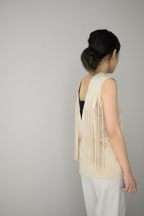 NAIFE / BACK SLASH PRINTED TSHIRT