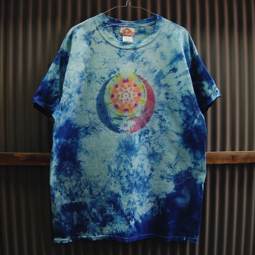 TKHOME FACTORY×GRATEFUL DEAD SYF Mandala×Uneven dyeing T-shirt Large