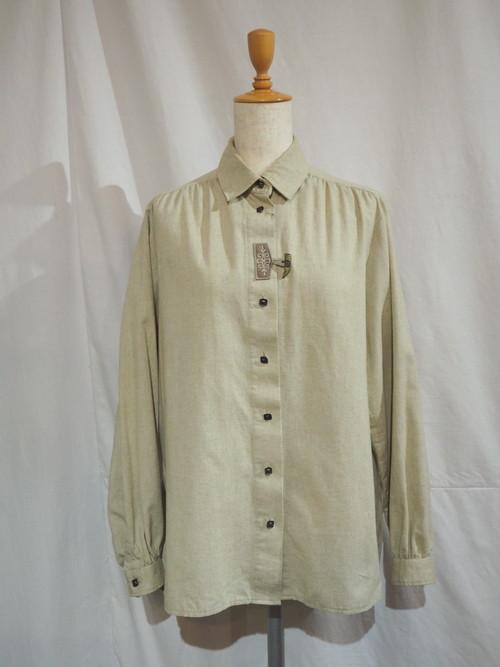 Tylorean Toggle Button Blouse [G-947]