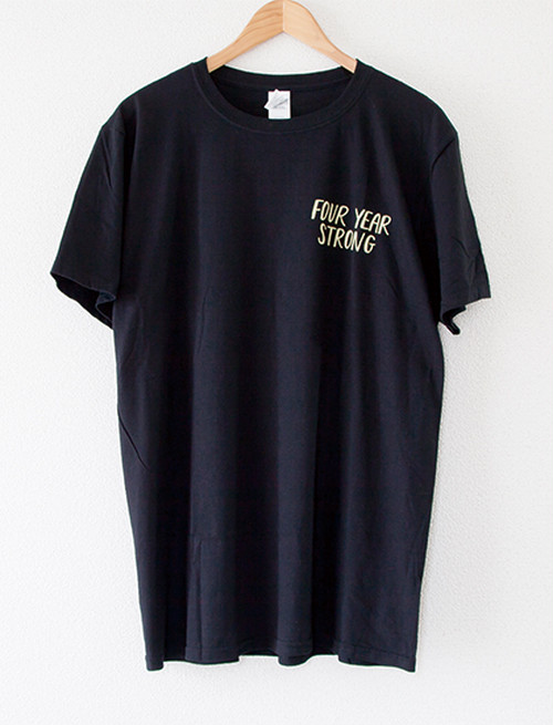 【FOUR YEAR STRONG】Moon Man T-Shirts (Black)