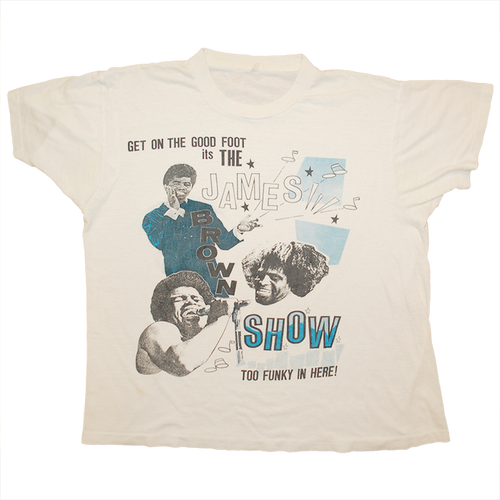 """James Brown"" Vintage Tee Used"