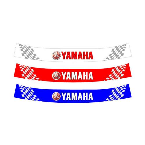 ヘルメット バイザーステッカー ヤマハ YAMAHA 02 アライ Arai GP-5・GP-5S・SK-5・GP-6・GP-6S・SK-6ヘルメット対応
