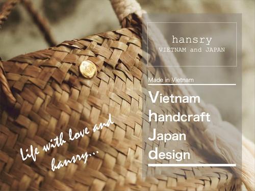 <予約専用>hansry カゴバッグ  オールパール_GOLD