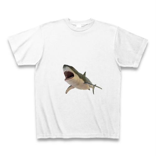ホホジロザメのTシャツ