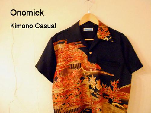 着物アロハシャツ Kimono Aloha Shirt AL-620/L