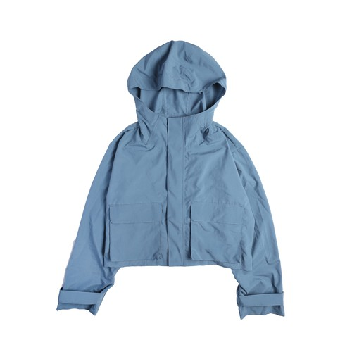 SHORT MOUNTAIN PARKA / BLUE