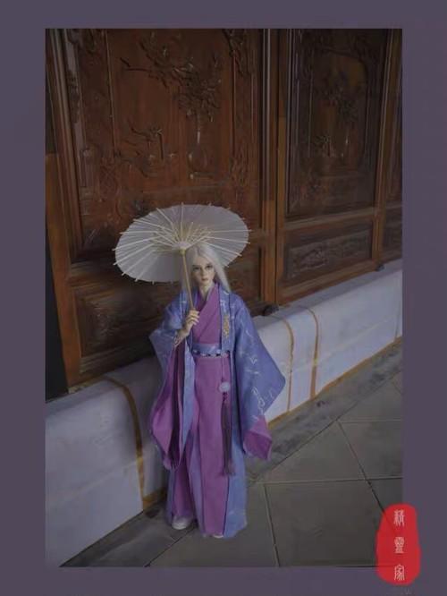 【即納70cm/40cm】紫古装set