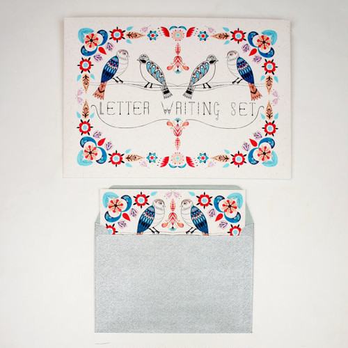 Letter Writing Set - Garden Birds