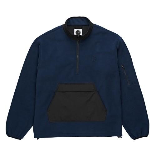 POLAR SKATE CO. GONZALEZ FLEECE JKT OBSIDIAN BLUE L ポーラー フリース ジャケット