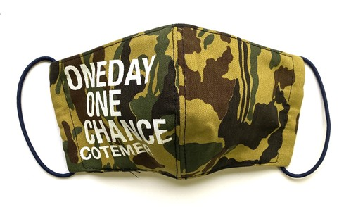 【COTEMER マスク 日本製】 ONE DAY ONE CHANCE MILITARY MASK o-ml04