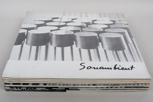 Harry Bertoia/Sonambient  LP 全11枚