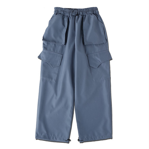 WIDE CARGO PANTS / GRAY