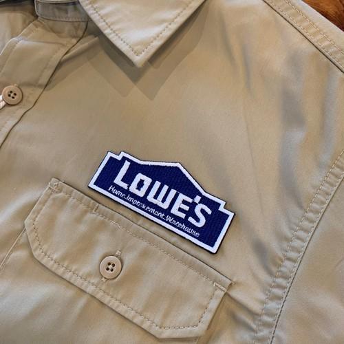 PATCHIES【ワッペン】 LOWE'S ロウズ ワークシャツ