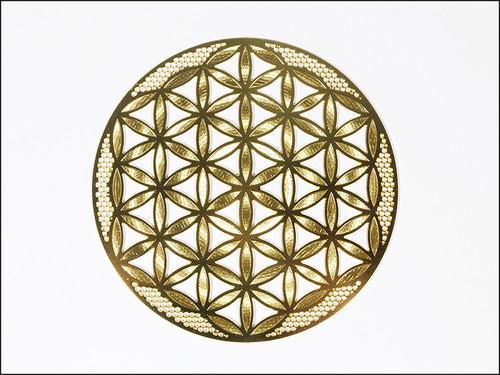 神聖幾何学図形・タリズマン(護符)エナジーカード・フラワーオブライフ(活性化)