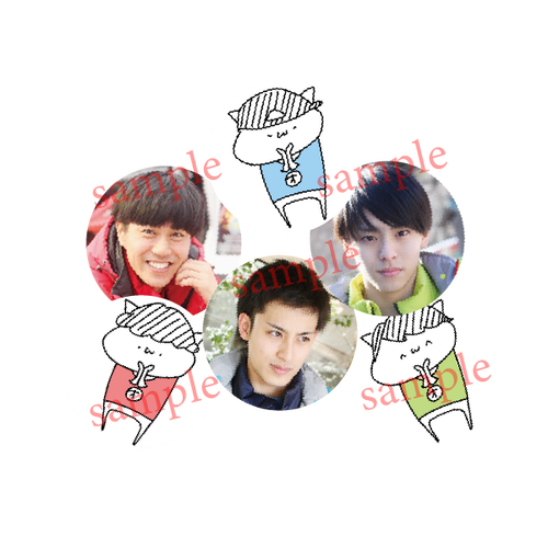 『オガッタ!?』トレーディング缶バッジ(オガステ!?2)