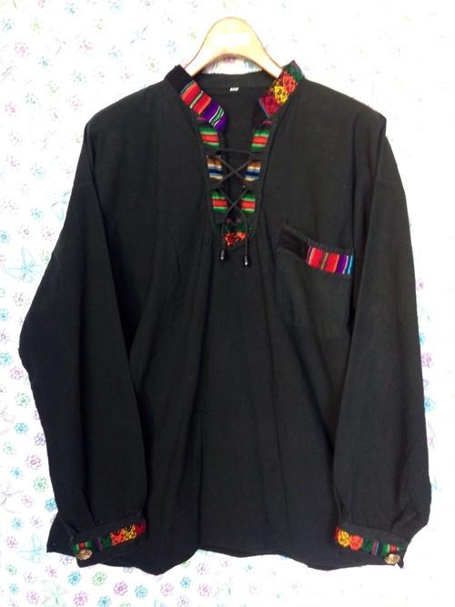 メキシカンシャツ(大き目サイズ)/USA古着 レディース