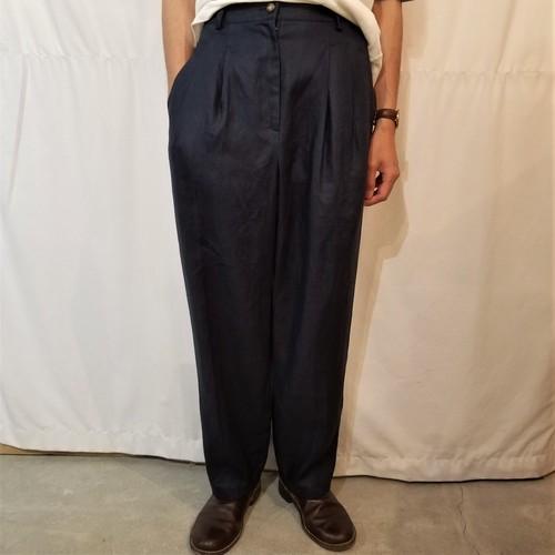 Linen slacks [K-1097]