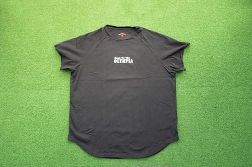 "Cutoff Raglan ""X""T-Shirts (BK/BN)の商品画像2"