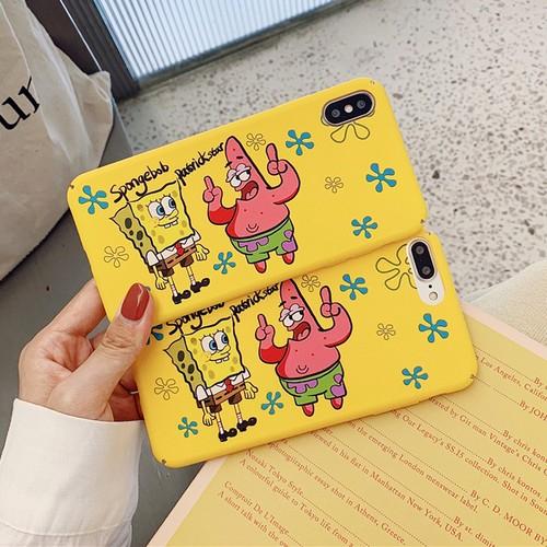 【小物】SpongeBobカートゥーンiPhoneXS/8plus/7/6s/XR/Maxスマホケース