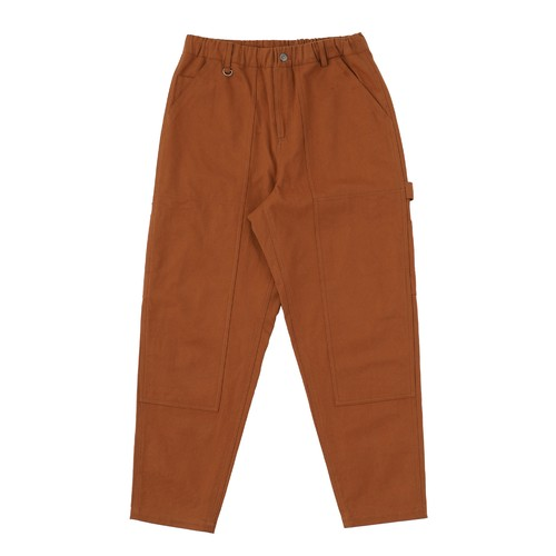 EXAMPLE DUCK PAINTER PANTS / BROWN