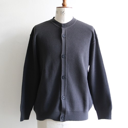 STILL BY HAND  【 mens 】10g kataaze crew neck cardigan