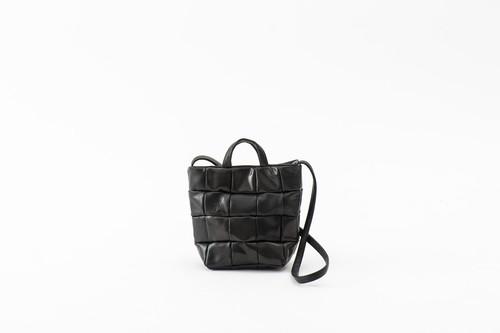 BUBUN:shoulder bag -M. black