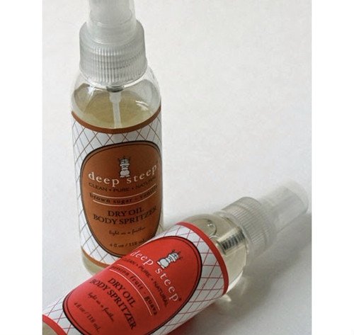 deep steep ドライオイル ボディスプリッツァー/Dry Oil Body Spritzer
